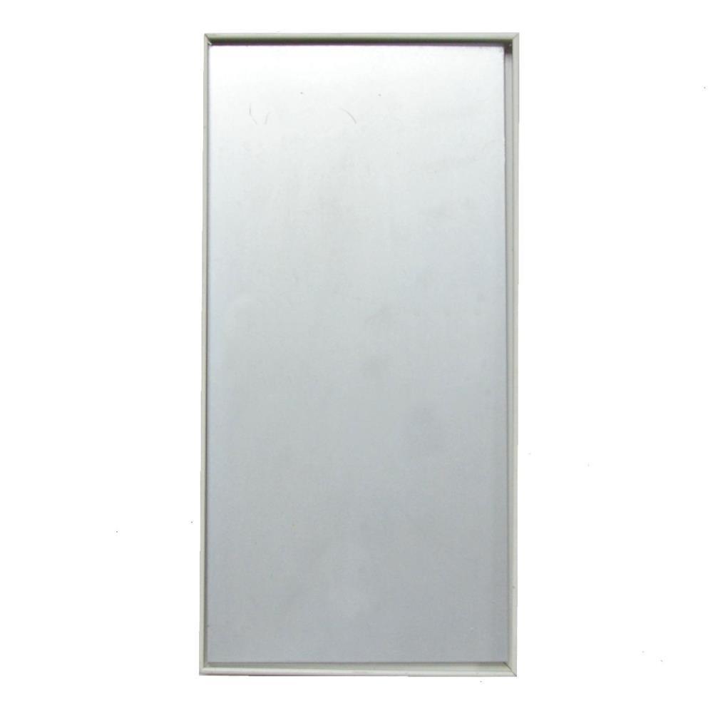 revisionsklappe fliesenrahmen rk7 weiß metall 15x30 cm